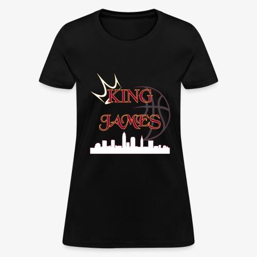 king james - Women's T-Shirt