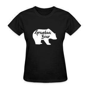 Grandma Bear - Women's T-Shirt