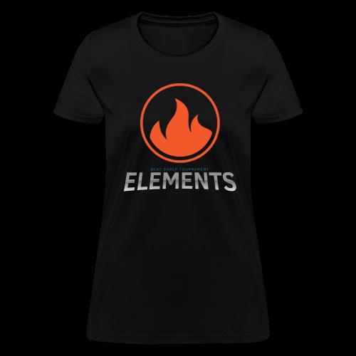 Team Fire's Elements Design - Women's T-Shirt