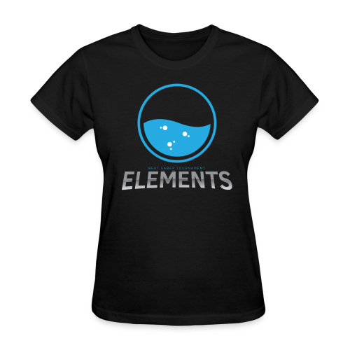 Team Water's Elements Design - Women's T-Shirt