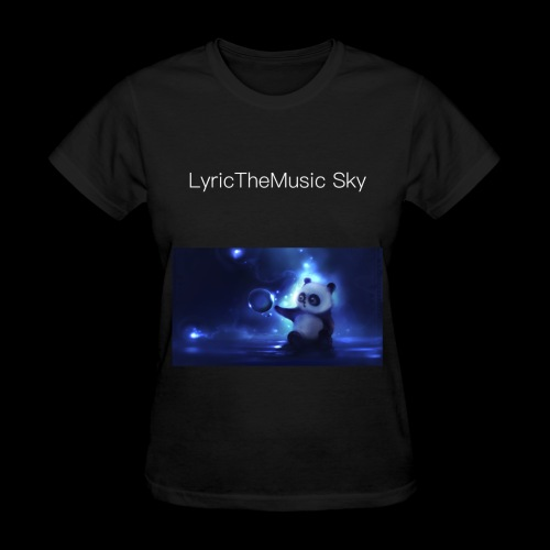 """LyricTheMusic Sky"" MERCH - Women's T-Shirt"