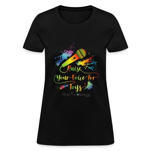 GTU Toy Drive Glow Shirt - Women's T-Shirt