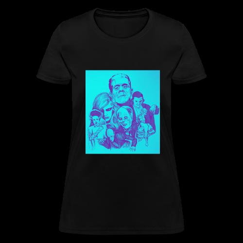 Ghouls got the Blues - Women's T-Shirt
