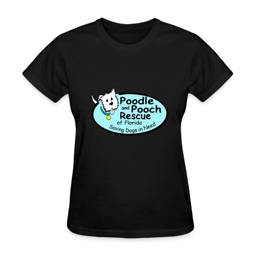 Poodle and Pooch Logo - Women's T-Shirt