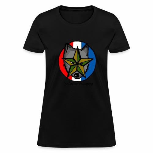 old wolf logo - Women's T-Shirt