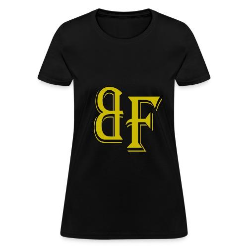 Broken Fundamentals Classic Lettering - Women's T-Shirt