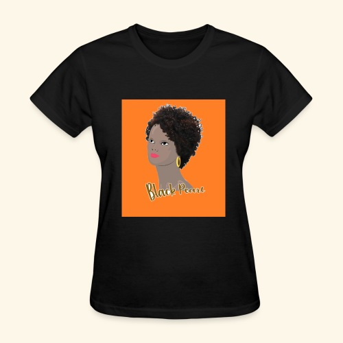 Black Curly Kinky Frizzy Hair - Women's T-Shirt