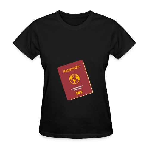 passport travel icon by Travel4hlidays - Women's T-Shirt