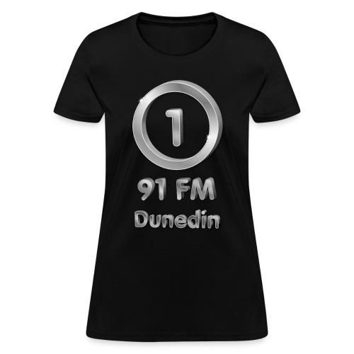 RADIO ONE 91FM MILLENIAL LOGO - Women's T-Shirt