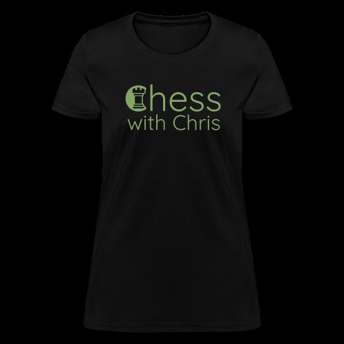 Chess With Chris Logo - Women's T-Shirt