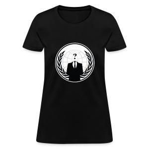 Anonymous Logo - Women's T-Shirt