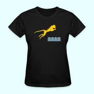 Diving Monkey - Women's T-Shirt