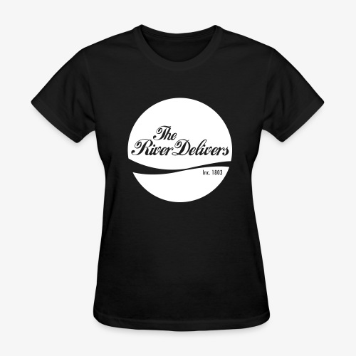 The River Delivers in White - Women's T-Shirt