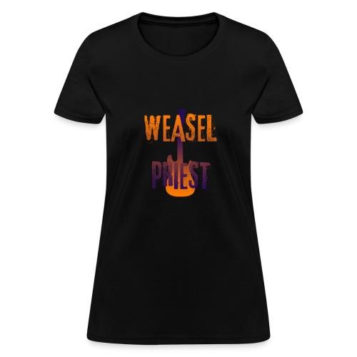 Weasel Priest Gradient Design - Women's T-Shirt