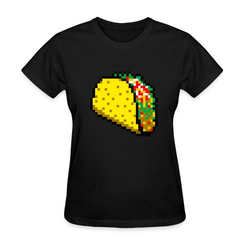 8bit Taco - Women's T-Shirt