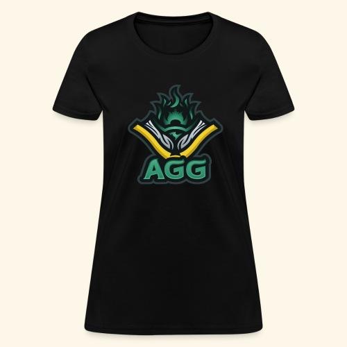 AGG Logo Text Transparent - Women's T-Shirt
