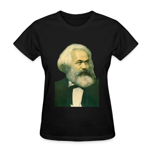 Karl Marx Portrait - Women's T-Shirt