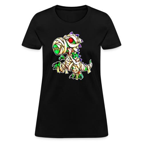 Halloween Mummy Trex - Women's T-Shirt