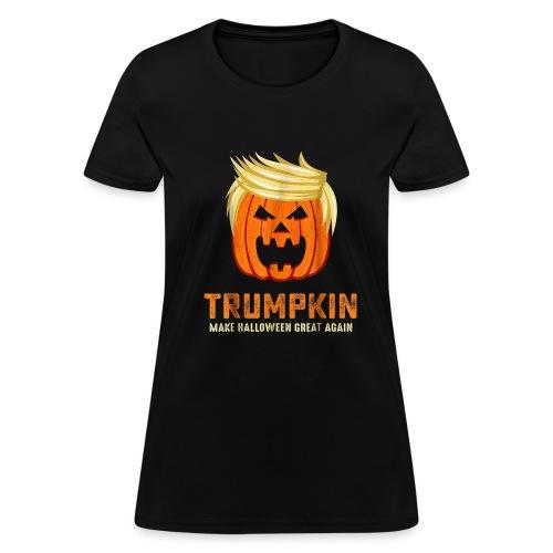 Trumpkin | Halloween Shirt - Women's T-Shirt