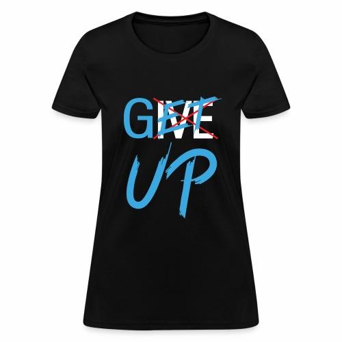 Black White Get UP - Women's T-Shirt