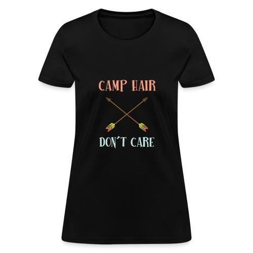 camp hair dont care t-shirt - Women's T-Shirt
