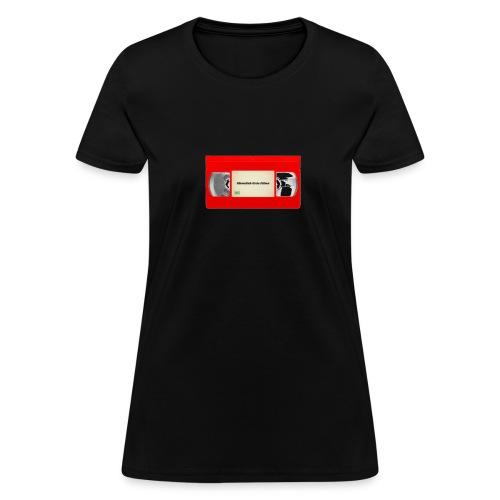 Red VHS Tape Logo - Women's T-Shirt