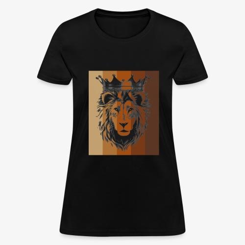 lion colors king - Women's T-Shirt