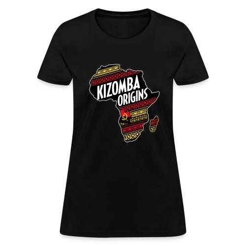 kizomba origins - Women's T-Shirt