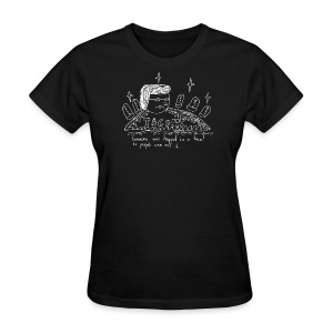 Trapped in a Taco - Women's T-Shirt