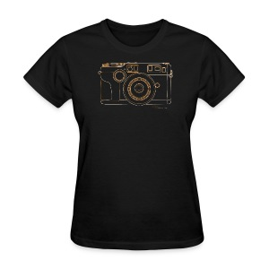 Camera Sketches - Contax G2 - Women's T-Shirt