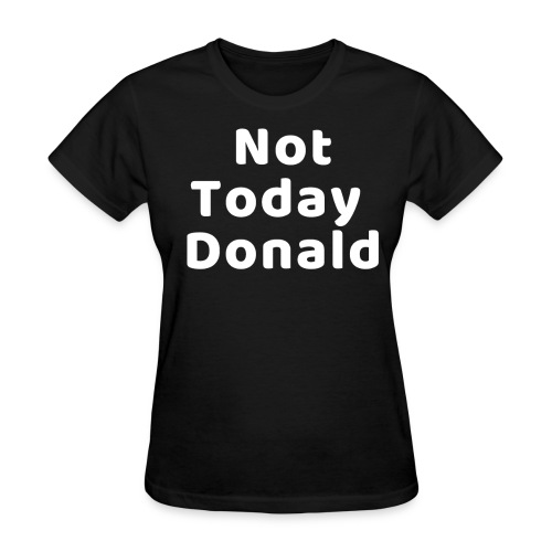 Funny Anti Trump Midterm Election Campaign T-Shirt - Women's T-Shirt
