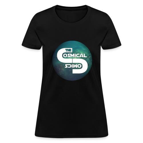 TheCosmicalComics logo - Women's T-Shirt