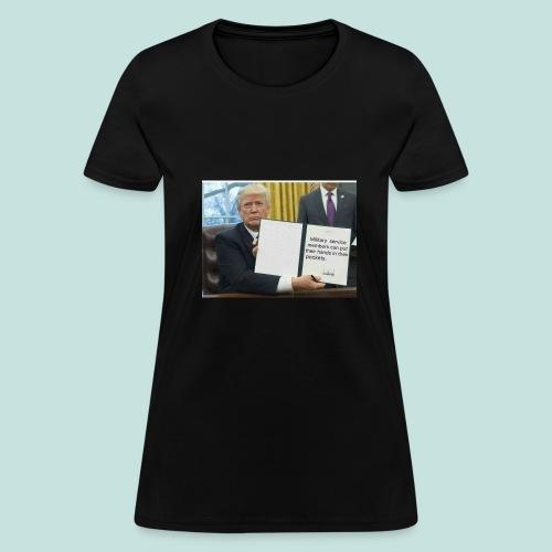 Trump said so - Women's T-Shirt