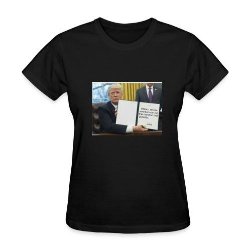 Trump said so - Women's T-Shirt