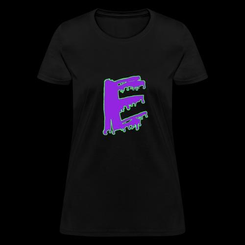 Colored Ooze Logo - Women's T-Shirt