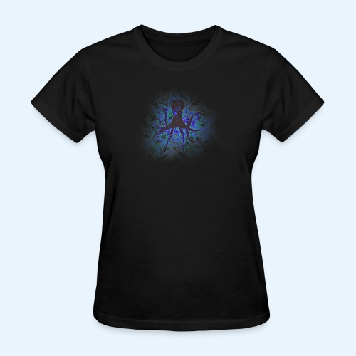Octopus darklight - Women's T-Shirt