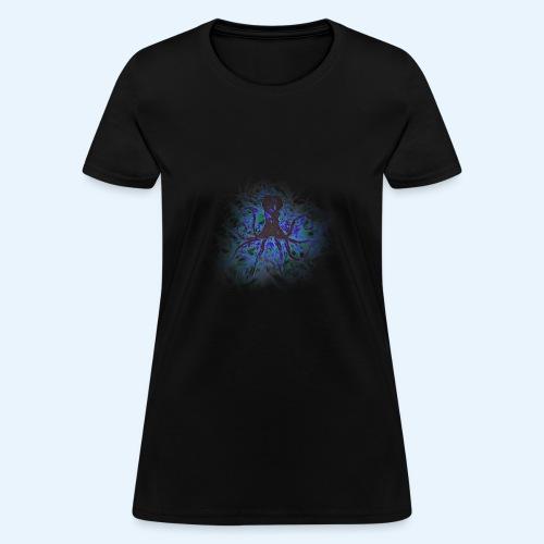 Octopus darklight - Women's T-Shirt