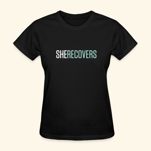 She Recovers - Women's T-Shirt