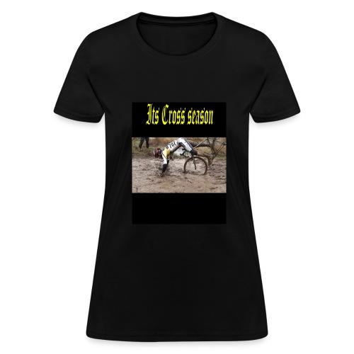 its cross season - Women's T-Shirt