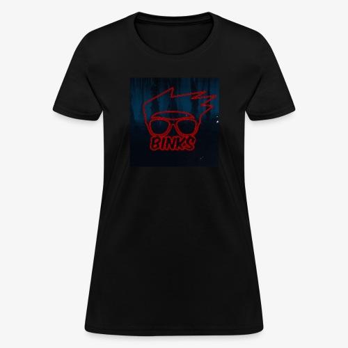Binks Upside Down - Women's T-Shirt