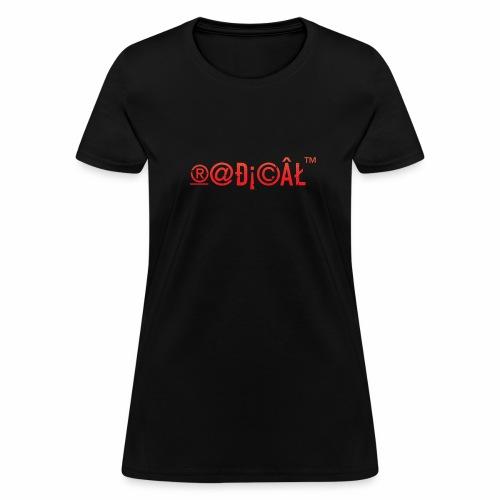 Radical Glyphs - Women's T-Shirt