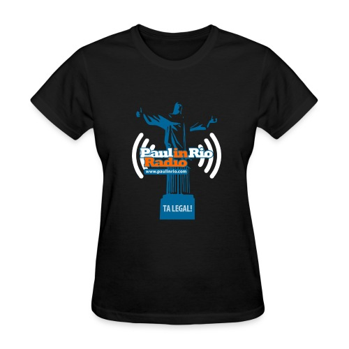 Paul in Rio Radio - The Thumbs up Corcovado #2 - Women's T-Shirt