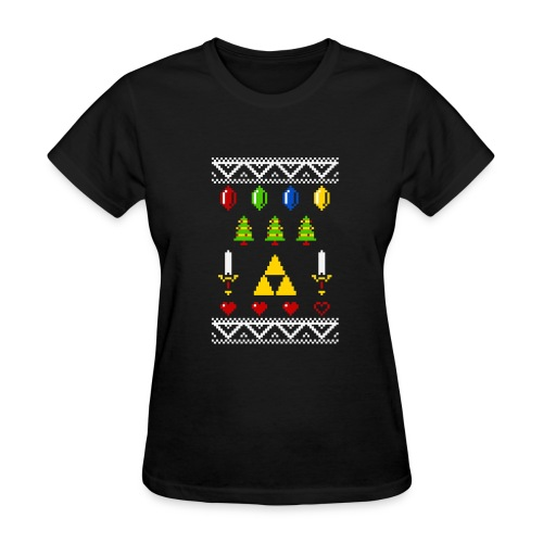A Very Hyrule Xmas New - Women's T-Shirt