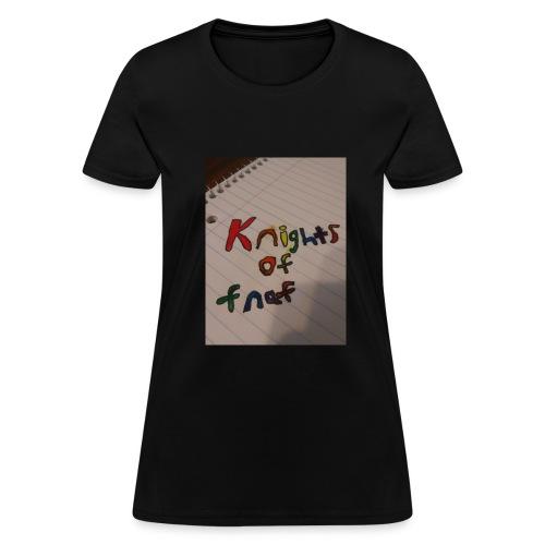 Knights of fnaf merch - Women's T-Shirt