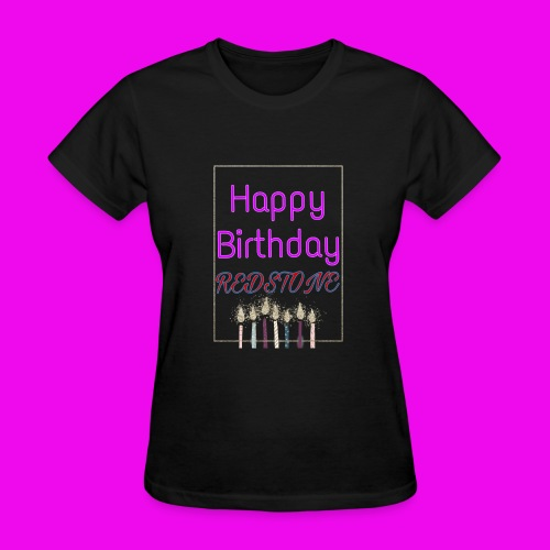 Happy 11th Birthday Logo - Women's T-Shirt