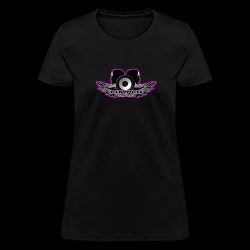 Church Bass Worship New Logo - Women's T-Shirt