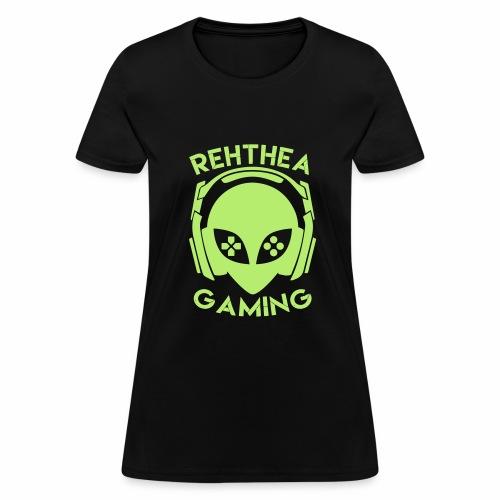 Alien Head Rehthea Gaming - Women's T-Shirt