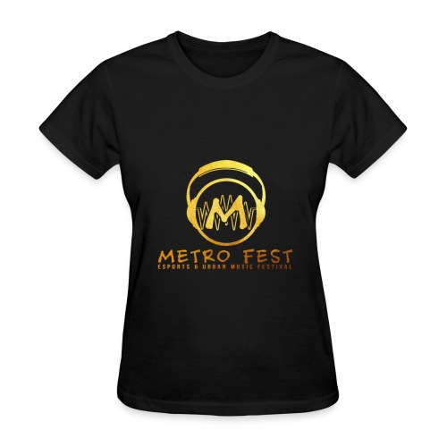 metrofest gold - Women's T-Shirt
