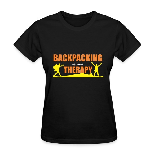 BackPacking is our Therapy - Women's T-Shirt