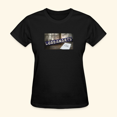 LordanArts Channel Banner - Women's T-Shirt